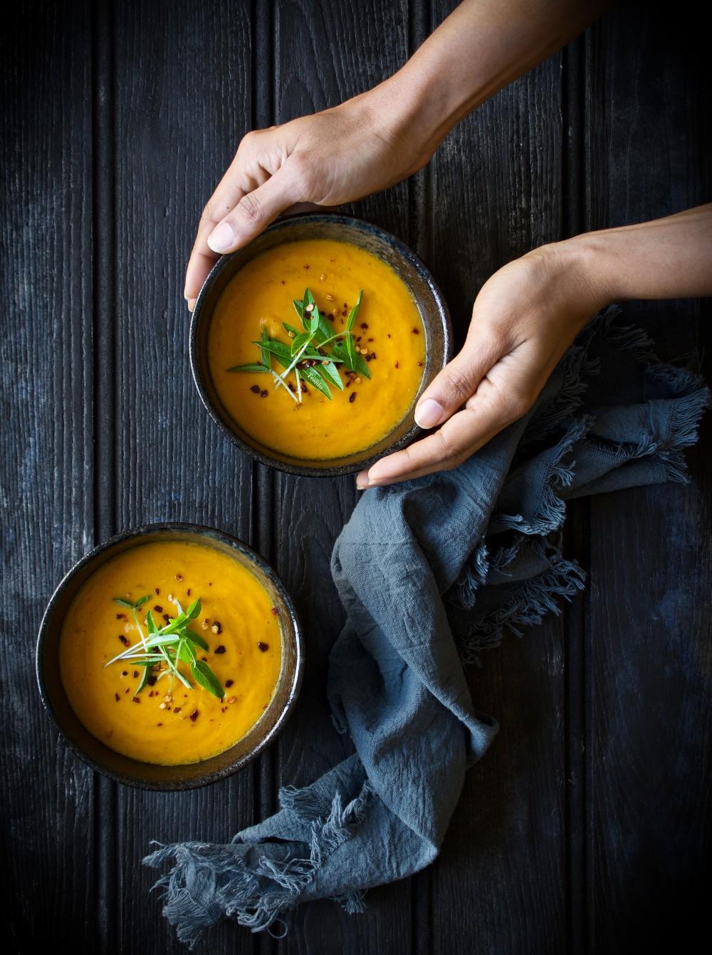 Lentil soup with WM